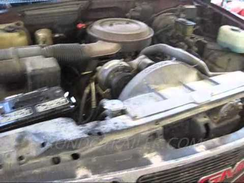 1993 5.7 L TBI Engine run. Chevy 1500 - YouTube