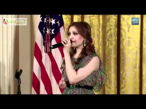 Mozhdah Jamalzadah White House Performance video