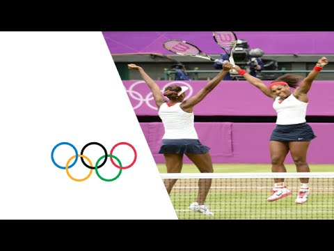 Venus & Serena Williams Win Olympic Doubles Gold - London 2012 Olympics