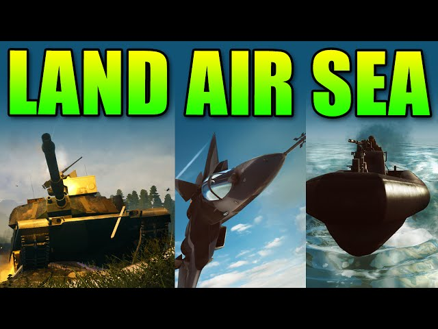 Squad Up - Land, Air & Sea Tactics | Battlefield 4 Gameplay