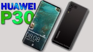 Huawei P30 - 5G, 48 MP Rear Camera, 6 GB RAM, Under Display Fingerprint Scanner ! (Concept)