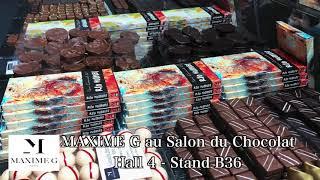 MAXIME G au Salon du Chocolat 2018