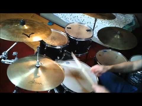 John 5 - Black Widow a la Porte (ft. Jim Root) drum cover! [TheAmagaaad]