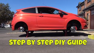 Ford Fiesta ST (mk7) - how to replace front and rear brakes