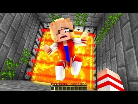 Как Спасти Девушку и защитить ? Девушка Майнкрафт ПЕ выживание видео мультик для детей Minecraft PE