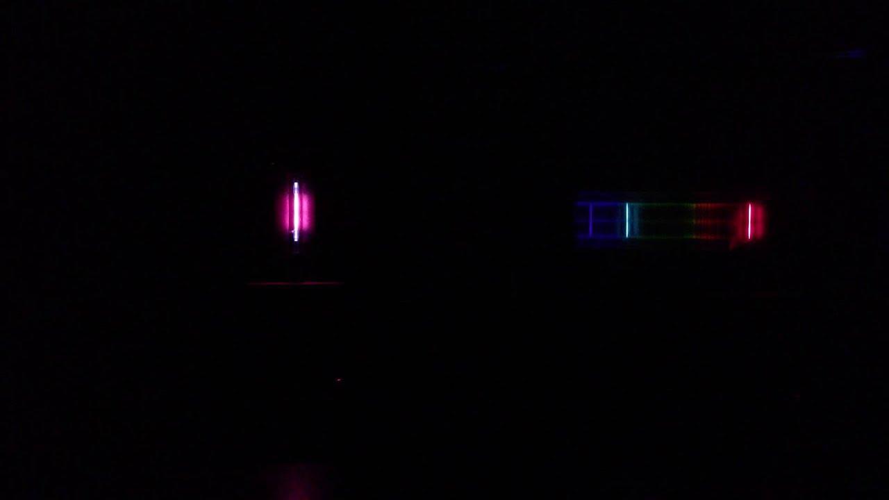 Bright Line Emission Spectrum of Hydrogen Bright Line Emission Spectrum