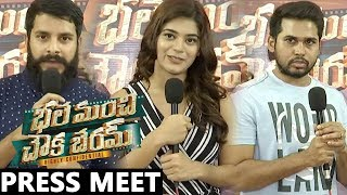 Bhale Manchi Chowka Beram Movie Press Meet | Naveed | Nookaraju | Yamini Bhaskar