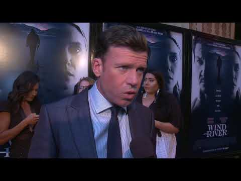 Wind River : Los Angeles Premiere Red Carpet Itw Taylor Sheridan (official Video)