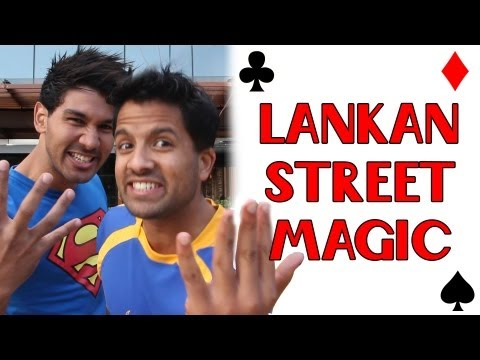 Sri Lankan Street Magic (Impromptu collab with JayJay and Elly Awesome)