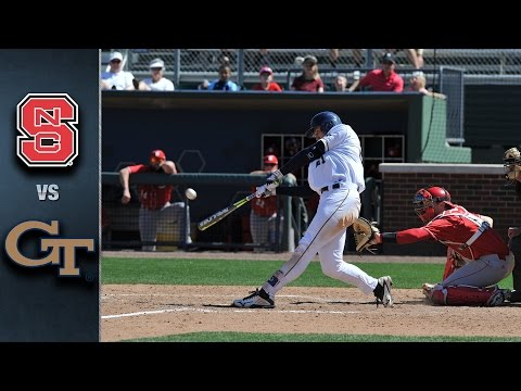NC State vs. Georgia Tech Baseball Highlights (April 17, 2016)