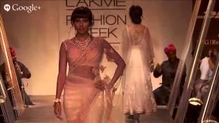 Reliance Jewels Presents Tarun Tahiliani   Lakmé Fashion Week Summer/Resort 2014