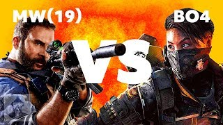 Modern Warfare VS Call of Duty Black Ops 4 - Which is Better? | The Leaderboard