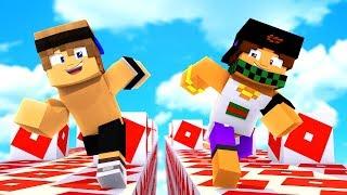 CORSA dei LUCKYBLOCK DI ROBLOX! - Minecraft ITA