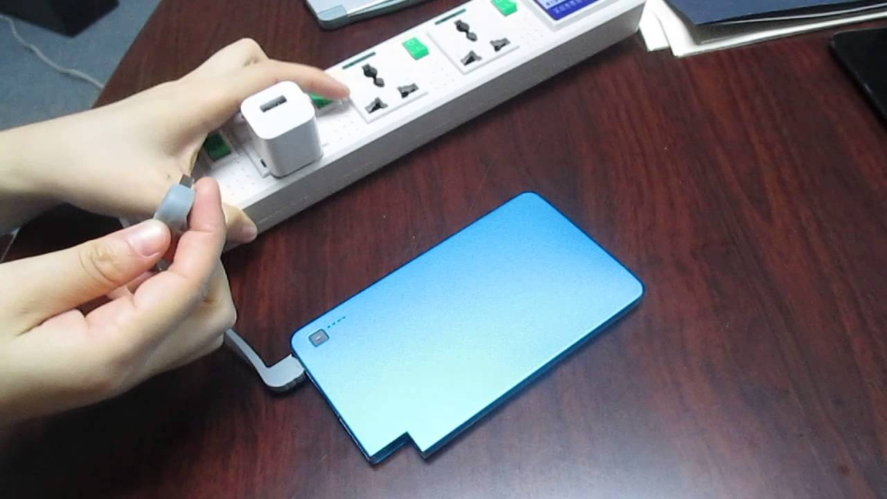 Slim Leaf Vivi Power Bank Charger For Mobile Phone Iphone Youtube