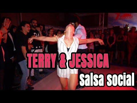 Terry Salsalianza - Jessica Patella Salsa Social | IIDF-2018