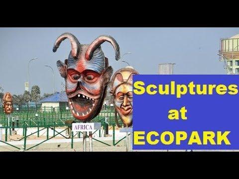 India's Most Beautiful park| Sculptures | Ecopark |Kolkata