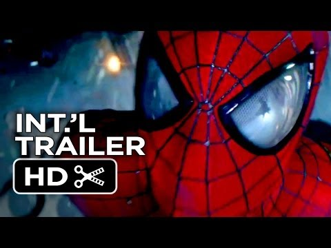 The Amazing Spider-Man 2 Official International Trailer - Rise of Electro (2014) - Movie HD