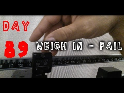 Day 89 of 90 - Arctic Ruby Oil Review - WEIGH IN FAIL