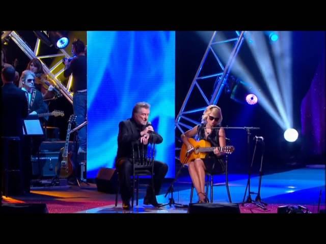 Eddie Mitchell amp MГlody Gardot - quotOver the rainbowquot - FГte de la Chanson FranГaise 2010