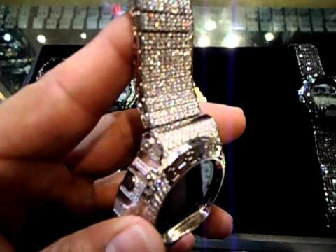 Mr Chris Da Jeweler Custom Lab Diamond Real G Shock Iced Out