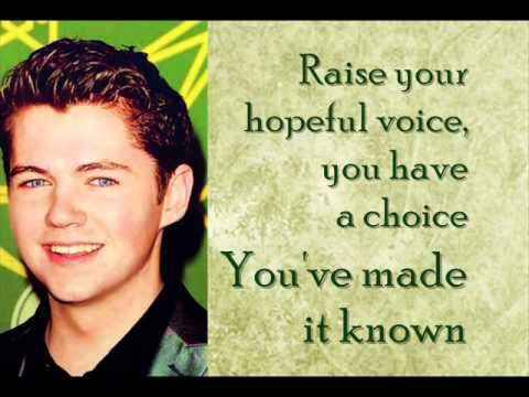 Damian McGinty Falling Slowly Lyric Video