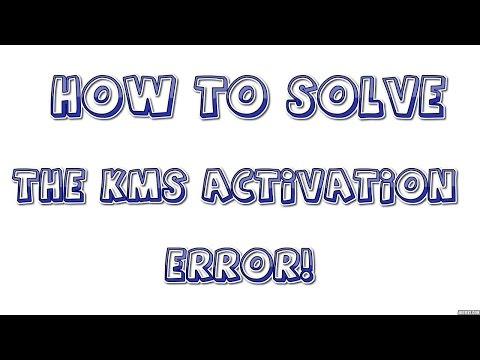 Microsoft Office KMS Activation Error(Simple Solution!)
