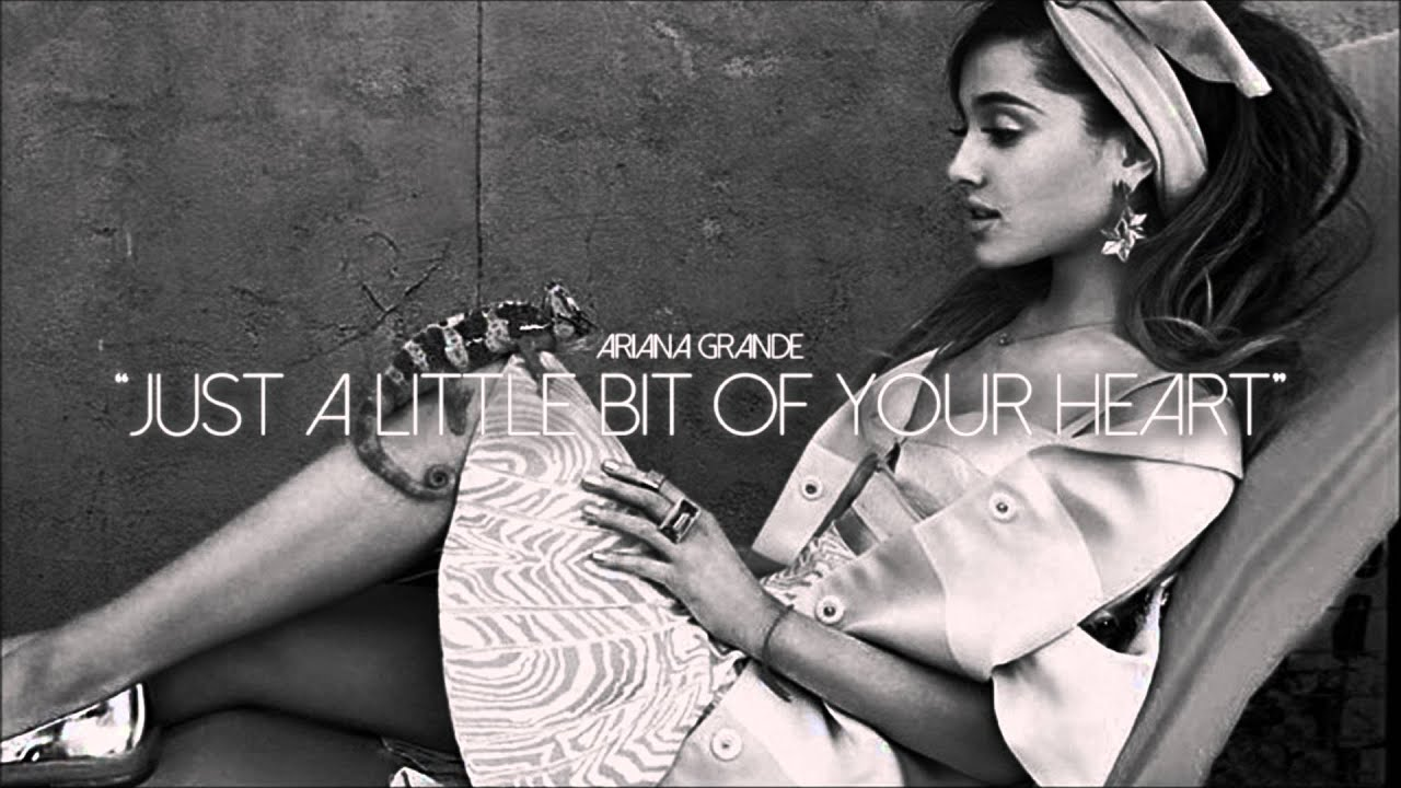 Ariana grande just a little bit of your heart instrumental prod