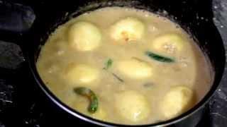 Dimer Korma/ডিমের কোরমা-How To Make Dimer Korma-Eid Special