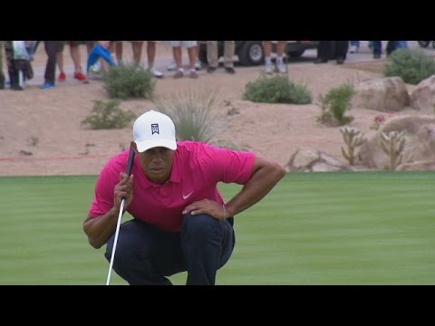 Tiger Woods holes first birdie of 2015 at Waste Management