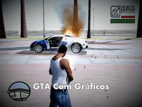 Como colocar Gráficos Fodas no GTA San Andreas com PC Zuado