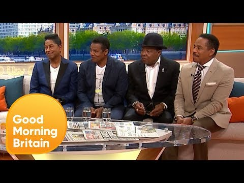 The Jacksons Won't Let Their Age Slow Them Down | Good Morning Britain
