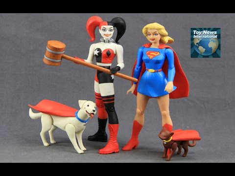 DC Comics Designer Series Darwyn Cooke Supergirl & Harley Quinn Figures Review