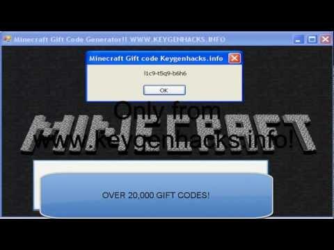 [JAN 2013] MineCraft Gift Code Generator FREE and LEGIT  - Minecraft for free