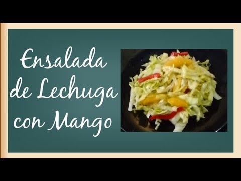 Ensalada de Lechuga con Mango Full HD