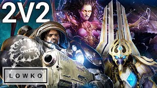 StarCraft 2: PROFESSIONAL 2V2! (Team Game)
