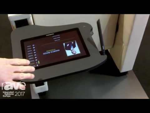 ISE 2017: Marconi Intros Chair with Integrated Screen and Software