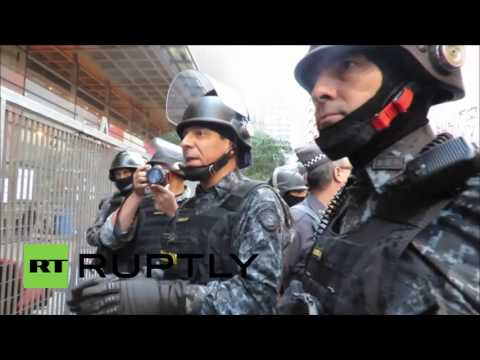 Brazil: Students arrested after riot police break up peaceful sit-in protest
