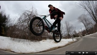 How to Bunny Hop Barspin BMX