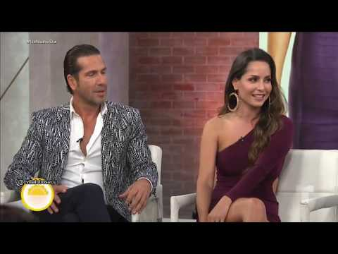 Carmen Villalobos Fabian Rios Gregorio Pernia y Catherine Soachoque en Un Nuevo Día