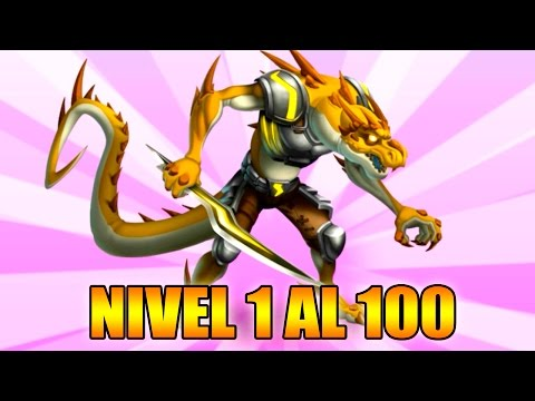 Monster Legends - Yndra - Level 1 to 100 & Combat - Review