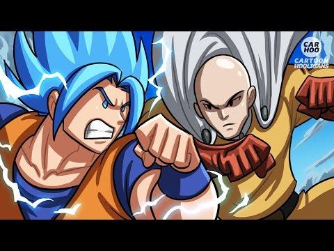 media videos de goku la guerra de los dioses