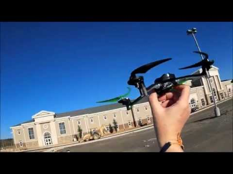 Flying the Traxxas Alias at Helena High School