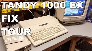 Radio Shack Tandy 1000 EX Fix and Tour