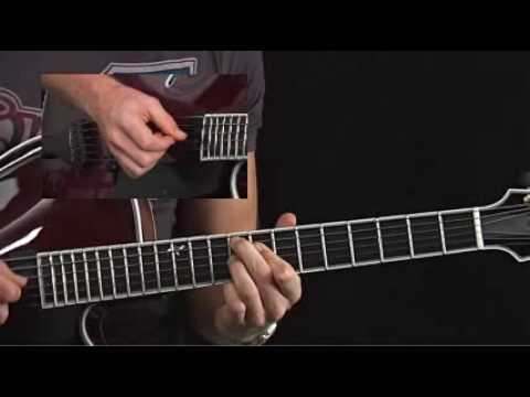 Guitar Lessons - Jazz Combustion - Andreas Oberg - Fast Bebop Comping 2