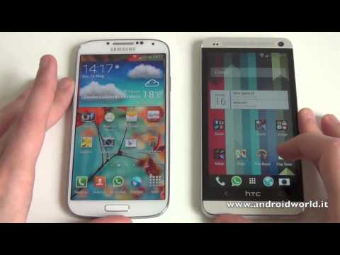 Samsung Galaxy S4 e HTC One: confronto fra top di gamma