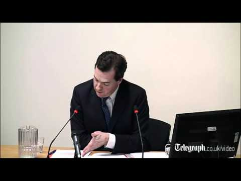 George Osborne at Leveson Inquiry: I thought Andy Coulson was strong candidate for job