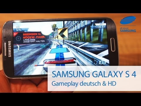 Samsung Galaxy S4 GT-I9505 Gameplay Spiele deutsch HD