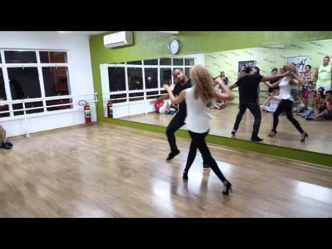 Carlos and Fernanda Zouk demo - Workshop Favorite moves