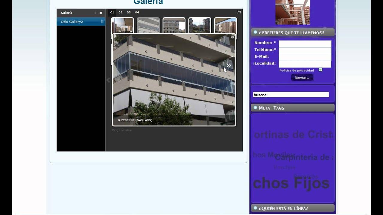Cerramientos terrazas cortinas de cristal perfiles - Cerramientos de balcones ...