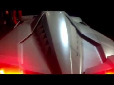 Lamborghini Egoista - Closing Canopy & Engine Start